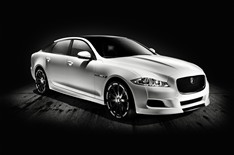 Jaguar XJ Platinum Concept in white