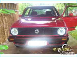 1985 vw golf mark 2 in red