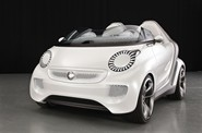 smart forspeed in white