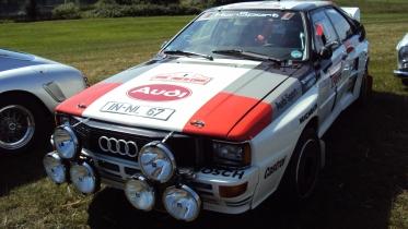 Hannu Mikkola's Audi Quattro Rally Car