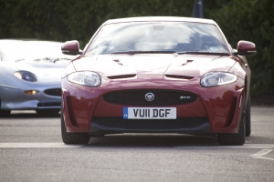 Driving Torque drives Jaguar XKR-S
