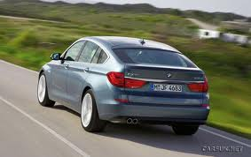 Rear view of the BMW 5 Series GT