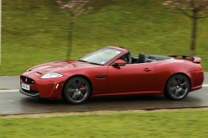 Driving Torque drives the Jaguar XKR-S Convertible