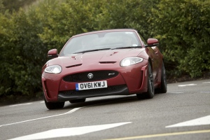 Jaguar XKR-S Convertible in Red