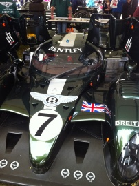 Bentley Speed 8 Le Mans car