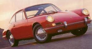1963 porsche 911 in red