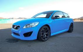 Volvo C30 with Polestar upgrade in blue