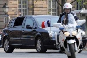 French presidential Renault Vel Satis escort