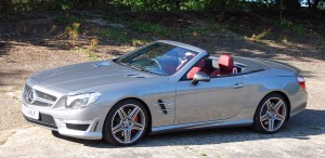 Mercedes Benz SL 63 AMG on Brooklands