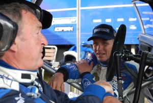 Nick Mason and Petter Solberg in WRC Carfest 2