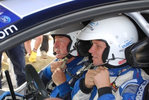Nick Mason and Petter Solberg in WRC Carfest 3