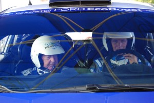 Nick Mason and Petter Solberg in WRC Carfest 5