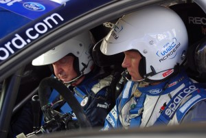 Nick Mason and Petter Solberg in WRC Carfest 6