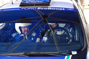 Nick Mason and Petter Solberg in WRC Carfest 7