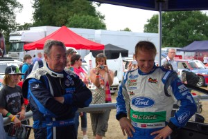Nick Mason chats with Petter Solberg Carfest 2