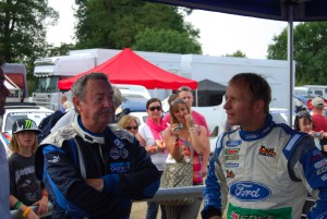Nick Mason chats with Petter Solberg Carfest 4