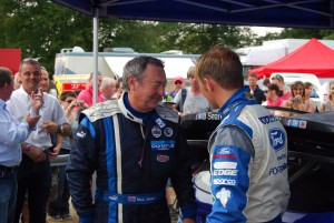 Nick Mason chats with Petter Solberg Carfest 5