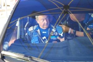 Nick Mason in Fiesta WRC Carfest
