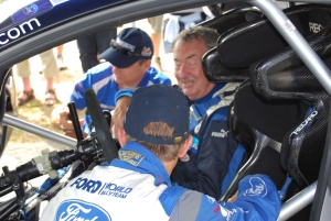 Nick Mason in WRC Carfest 2