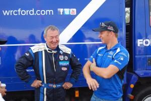 Nick Mason meets Petter Solberg Carfest1