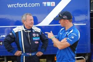 Nick Mason meets Petter Solberg Carfest2