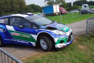 Petter Solberg Slides WRC 3 Carfest