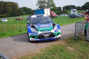 Petter Solberg sliding WRC 1 Carfest