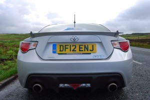 Toyota GT86 Rear view