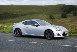Toyota GT86 Side view