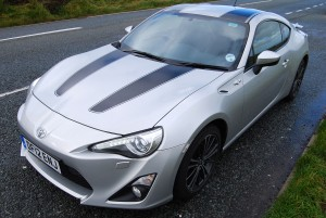 Toyota GT86 Three quarter view