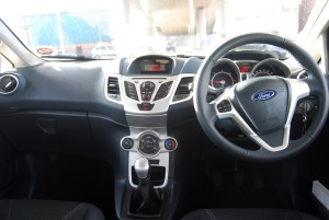 2012 Fiesta Interior, a very pleasant place to be