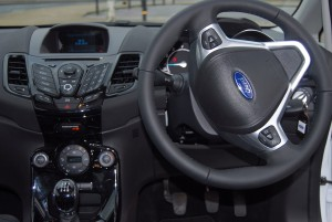 New interior, very similar to previous model.