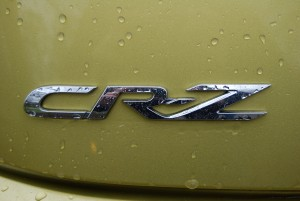 2013 Honda CRZ Badge