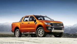 Ford Ranger Wildtrak front