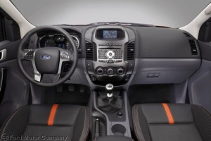 Ford Ranger Wildtrak interior