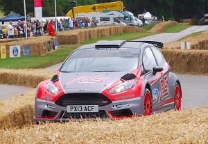 Ford Fiesta R5 Rally car