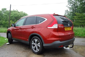 Honda CR-V rear side