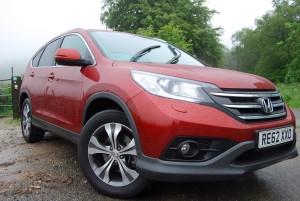 Honda CRV front side
