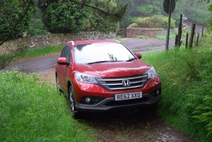 Honda CRV off road
