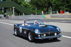 Grey Ferrari Carfest 2013