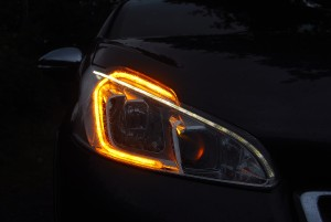 Peugeot 208 GTi headlight