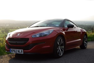 Peugeot RCZ front and side low