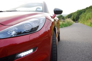 Peugeot RCZ GT front headlight