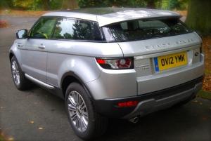 Range Rover Evoque Rear corner