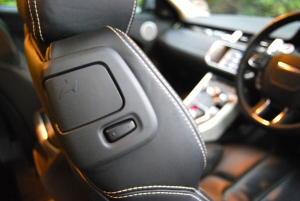 Range Rover Evoque Coupe seat button