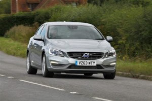 Volvo S60 nose has been altered for 2014 - particularly the location of the indicators