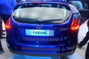 2014 Ford Focus Hatch Rear