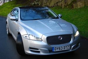 Jaguar XJ L Front