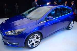 2014 Ford Focus Hatch side