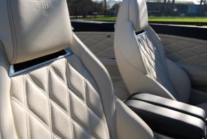 Bentley Continental Diamond stitch seats